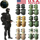 Tactical Military Elbow Knee Pad Outdoor Sport Skate Combat Protective Gear Sets