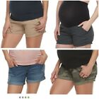 Внешний вид - NWT Women's Maternity Shorts - A Glow - 4 Colors - All Sizes - Full Belly Panel