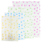 Flat Open Top Triangles Design Rice Paper Bags Different Colors & Sizes