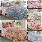 Elisa - 3 Piece Reversible Quilt Set and shams Floral. image