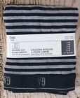 NIP Mens GAP Boxer Briefs Square Cut Cotton Blend Heather Gray Stripe - 285023