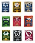 "Brand New NFL Teams  Soft Fleece Throw Blanket 50"" X 60"" Marque"