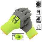 Safety Winter Insulated Double Lining Rubber 3/4Coated Work Gloves -BGWANS3/4-LM