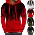Fashion Mens Camo Military Sweatshirts Tops Hoodie Casual Coat Jacket Sweater US