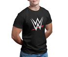 WWE LOGO Black T-Shirt.
