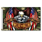 NEW 20 Variety Pick of Full Size 3'x5' Biker Soldier Skull Flag Flags w/Grommets