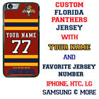 CUSTOMIZE FLORIDA PANTHERS PHONE CASE COVER FITS iPHONE SAMSUNG HTC LG etc $24.98 USD on eBay