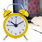 New Flower Vintage Metal Alarm Clock Twin Double Bell Desk Table Alarm Clock