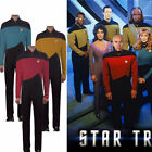 Star Trek TNG Jumpsuit Uniform The Next Generation Red Yellow Blue Costumes New on eBay