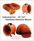 8~12'' Extractor Fan Blower Portable Duct Hose Fume Utility Ventilation Exhaust