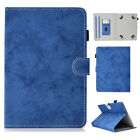 For Universal Tablet 7 8 10 Inch Pattern Leather Pencil Slot Card Holder Case