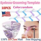 10pcs Eyebrow Shaper Template Pro Stencil Fast Easy Shaping Brow Grooming OV