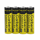 Lot Garberiel 18650 Battery 5000mAh Li-ion 3.7V Rechargeable Batteries for Torch
