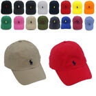 Unisex Polo RL Embroidered Pony Baseball Cap Classic Adjustable Golf Sport Cap