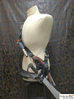 Pirate leather baldric sword / holster combo with optional baldric 2nd holster!