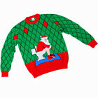 Toilet Santa Adult Ugly Christmas Sweater