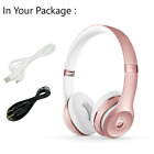 Beats by Dr Dre Solo 3 Wireless Bluetooth Headphone Black / Rose Gold / Silver
