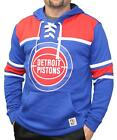 "Detroit Pistons Mitchell & Ness NBA ""Skate Lace"" Pullover Hooded Sweatshirt on eBay"