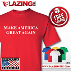 DONALD TRUMP President T Shirt Make America Great Again! Pro USA Conservative image