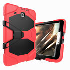 For Samsung Galaxy Tab E 9.6 / 8.0 Screen Protector Shockproof Stand Case Cover