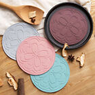 Round Placemats Deluxe Non-slip Flower Shaped Table Place Mat for Kitchen one