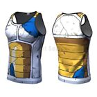 Dragon Ball 3D Compression Tank Vest Wokong Cosplay Gym Muscle Workout Top Vest