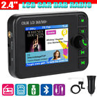 2.4in LCD Bluetooth Car DAB Radio Receiver Tuner Adapter FM Transmitter Antenna