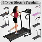 500W/1000W 2.5HP Folding Electric Treadmill Portable Motorized Running^Machine