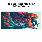 XXL Large Extended Gaming Mouse Pad Heavy Thick Desk Keyboard Mat 900MM X 400MM