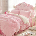 Throw Blanket Fluffy Thick Soft Plaid Elegant Cozy Bed Sofa Cover Warm Bedspread