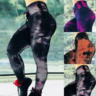 Sexy Women Abstract Yoga Pants Slim Tight Running Pants Sports Leggings Trousers