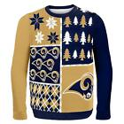 Busy Block Ugly Sweater Acrylic Made High Quality Materials Klew
