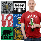 Funny Beer Drunk Bar Crawl Party Tees | College Drinking  IPA Brews Ale Tshirts