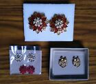 Avon Christmas Earrings - Post/Stud - Choose Your Style