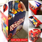 ROBLOX PARTY BRACELET BOX BANNER BALLOONS CAKE TOPPERS CUPCAKE DECORATIONS BAGS