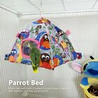 Bird Parrot Hammock Cage Snuggle Happy Hut Tent Hideaway Bed Bunk Gifts