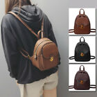 Women's Faux Leather Small Mini Backpack Rucksack Daypack Bag Purse Retro