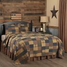 3-pc Patriotic Patch Quilt Sets with Quilted Shams & Farmhouse Choices - VHC  image