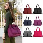 Women Handbags Waterproof Nylon Shoulder Bag Multi-pocket Solid Casual Tote Bags for sale  Shipping to Canada