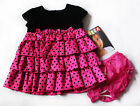 NWT Girls Dress Shrug NEW Holiday Christmas Birthday Party 3m 6m 9m 12m 18m 24m