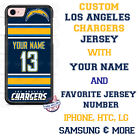 LOS ANGELES CHARGERS NFL FOOTBALL PHONE CASE COVER FOR iPHONE SAMSUNG etc NAME # $23.98 USD on eBay