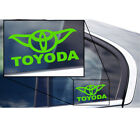 "5"" Toyoda Star Wars Yoda Vinyl Laptop Window Transfer Decal Sticker ALL COLORS* $4.99 USD on eBay"