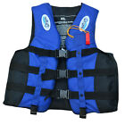 Waterskiing Buoyancy Aid Child Life Jacket Swimming Boating Ski Foam W/ Whistle