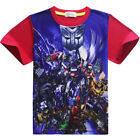 American Movie Transformers 5 Boys Short Sleeve T-Shirt Christmas Gift