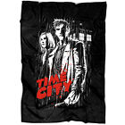 Time City Doctor Who Soft Fleece Throw Blanket, Clara Oswald And The Doctor