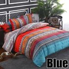 Bedding Set Duvet Cover Pillowcases Quilt Bed Cover Bohemian Mandala King Queen image