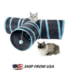 Внешний вид - Collapsible Pet Cat Rabbit Tunnel/Bag Y Shape 3 Way Interactive Cat Toy Tunnel