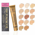 Dermacol High Cover Makeup Foundation Waterproof SPF-30K.BUY 5 & 1 FREE MASCARA