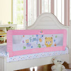 Pink Toddler Bed Rail Bed Guard Extra Long Bed Safety Rail for King&Queen