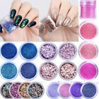 10ml Nail Art Glitter Powder Dust Rose Gold Purple Pink Nails Sequins Manicure